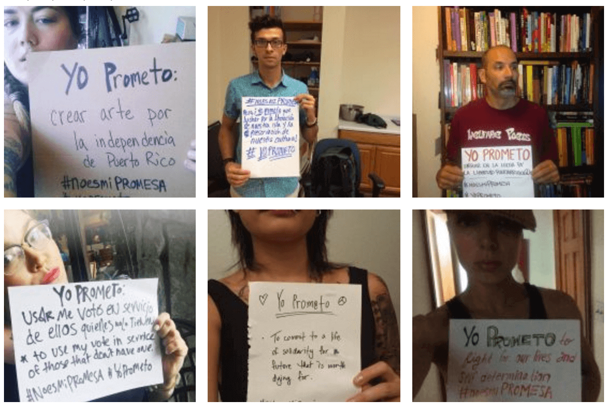 These Boricuas are calling out Promesa and making a different commitment
