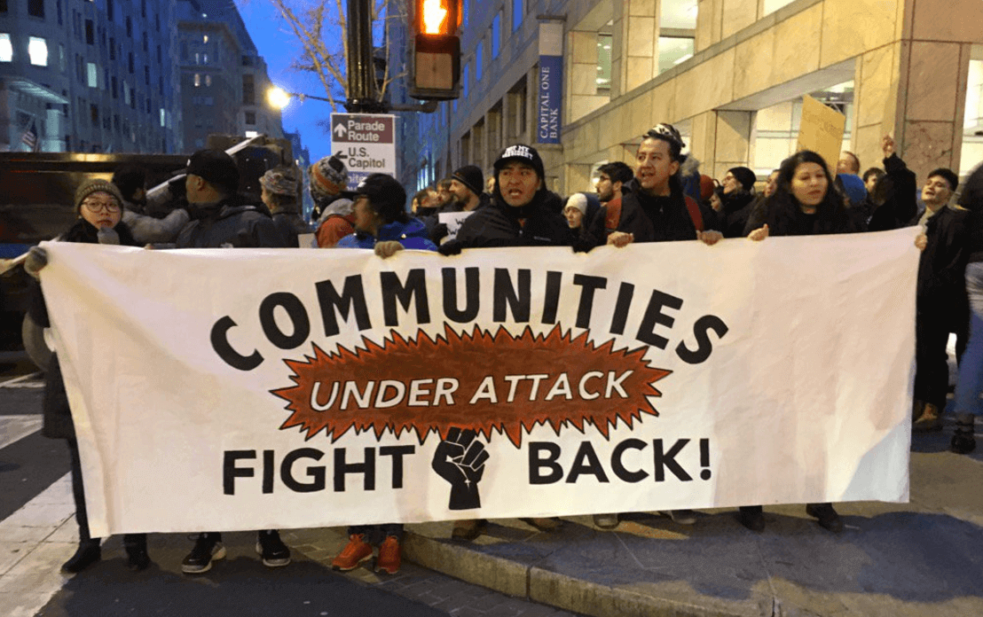 Communities under attack fight back