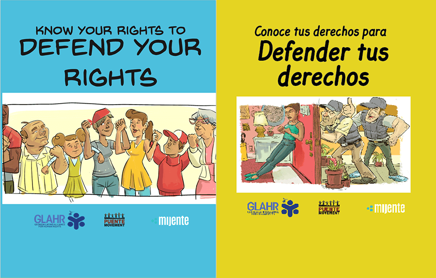 "Prepare Against Raids: New ""Defend Your Rights"" Materials Available"