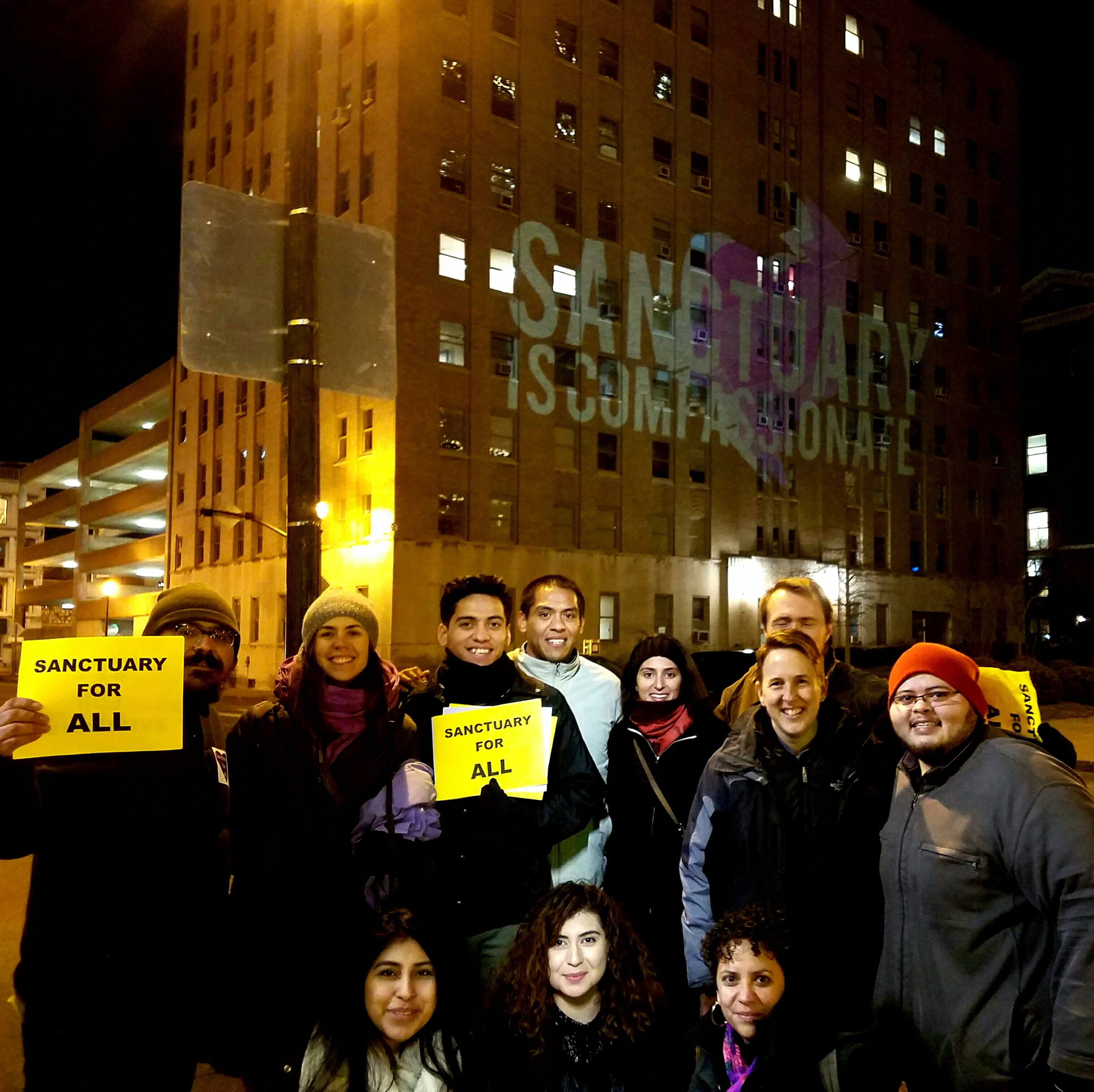 mijente crew in louisville, ky push forward sanctuary ordinance